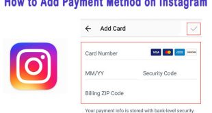 How to Add Payment Method on Instagram