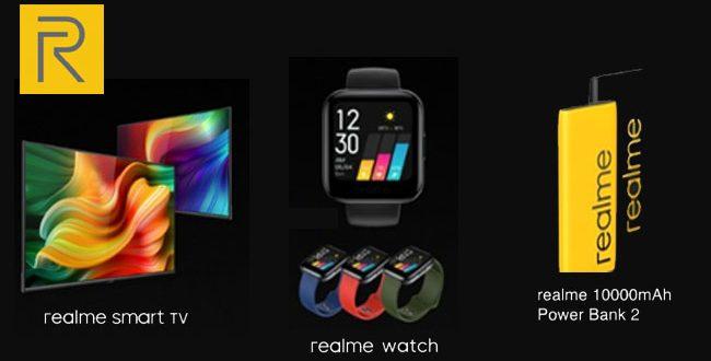 Realme SmartTv, Smart Watch