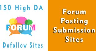 forum-submission-sites