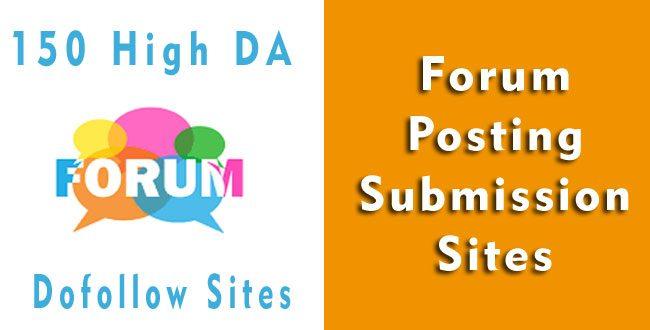 forum-submission-sites